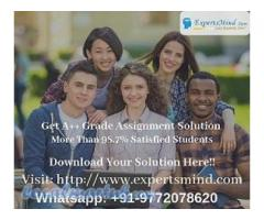 Expertsmind - Excellent Assignment Help Service Provider!