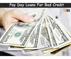 Online Payday loans bad credit | Instant credit loans US