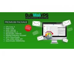 We Provide Bulk Mail VPS Server , Bulk E-Mail Server