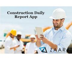 Construction Daily Report App