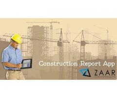 Construction Daily Work Report App