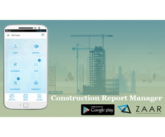 Construction Field Report App