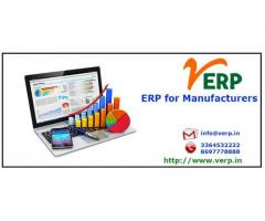 ERP for manufacturers, Why India?