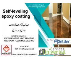Epoxy coating for Floor Services in Pakistan