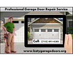 Specialize service Garage Door installation process $25.95 Katy Houston 77450 TX