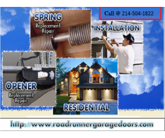 Garage Door Opener Spring Repair Plano, Dallas