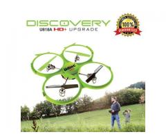 UDI 818A HD+ RC Quadcopter Drone with HD Camera,)