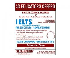 IELTS course offerd by 3D educators