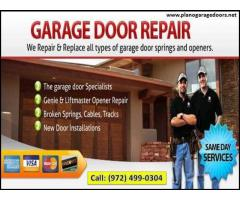Same Day | Garage Door Spring Repair ($25.95) 75023, TX
