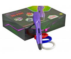 Scribbler 3D Pen V3 New Awesome Design Model Printing Drawing 3D Pen with LED Screen Different