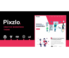 Pixzlo - Creative Theme for Professionals by zozothemes