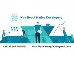 React Native Development Company |  Hire React Native Developers