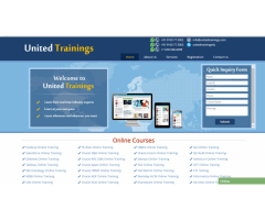 Online IT trainings provider - www.unitedtrainings.com
