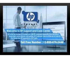 HP Support Number +1-855-676-2448