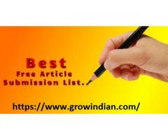 Best Article and Blog Writing Platform: Grow Indian