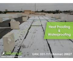 Best Heat And Water Proofing Service in Pakistan