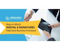 INDGLOBAL: A Leading Docusign Digital Signature Services Provider in Bangalore